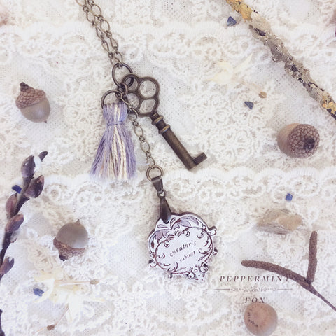 The Curator's Key Necklace