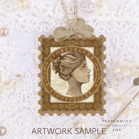 Storyteller Stamp Necklace