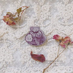 Tea Sachet Brooch