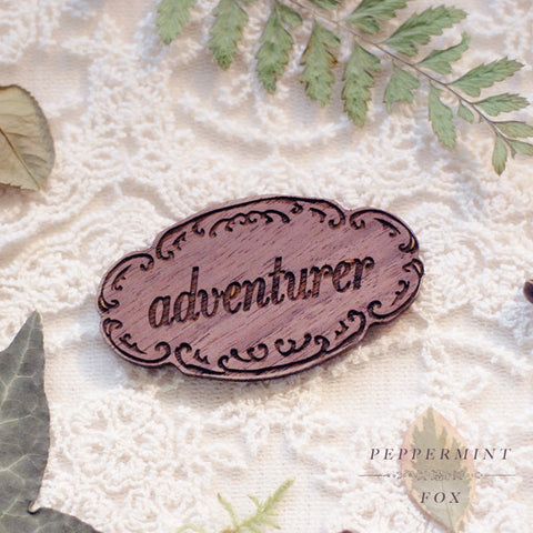 SALE Adventurer Brooch