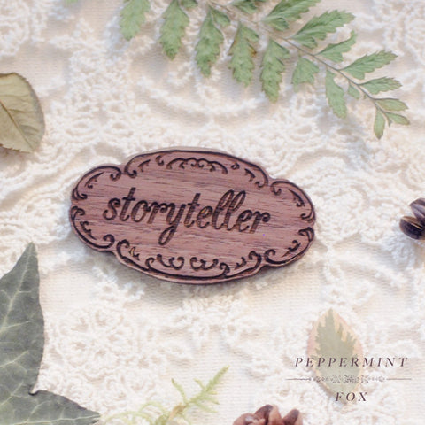 SALE Storyteller Brooch