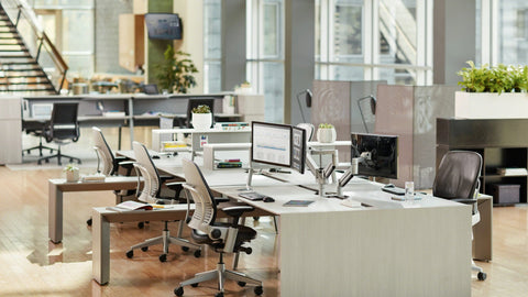 Steelcase Leap Blue Box Office Furniture Chair