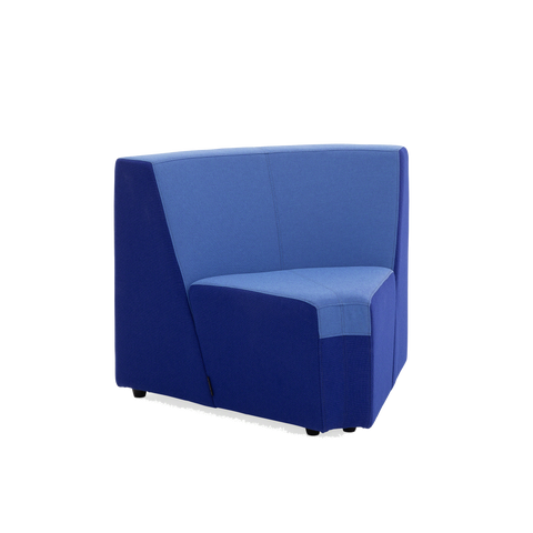 Steelcase Turnstone Campfire Inside 60 Lounge Blue Box Office Furniture Chair