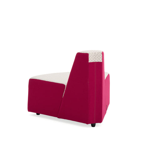 Steelcase Turnstone Campfire Outside 60 Waterfall Lounge Blue Box Office Furniture Chair Second Image