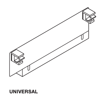 Steelcase Universal Cableway C-Clamp Blue Box
