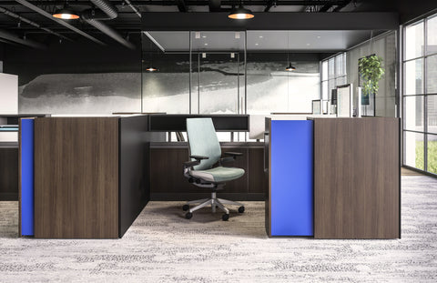 Steelcase Gesture Blue Box Office Furniture Chair Second Image