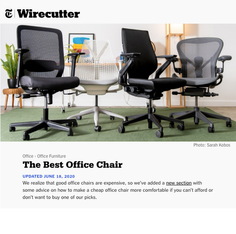 Steelcase Gesture Blue Box Office Furniture Chair New York Times Wire Cutter