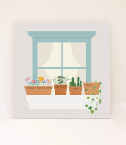 Congratulations On Your New Home: Plant Pots