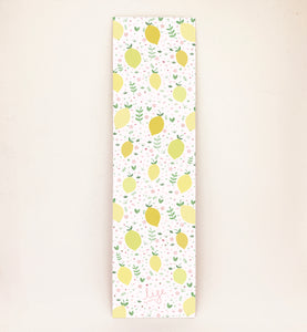 Lemon and Floral Bookmark