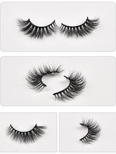 Queen 3D Faux Mink Lashes - DIBA by Dibawssette dark skin woc women of color makeup skincare