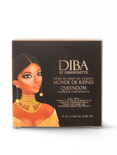 QUEENDOM Cushion Foundation - DIBA by Dibawssette dark skin woc women of color makeup skincare
