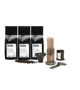 Aeropress™ + Coffee