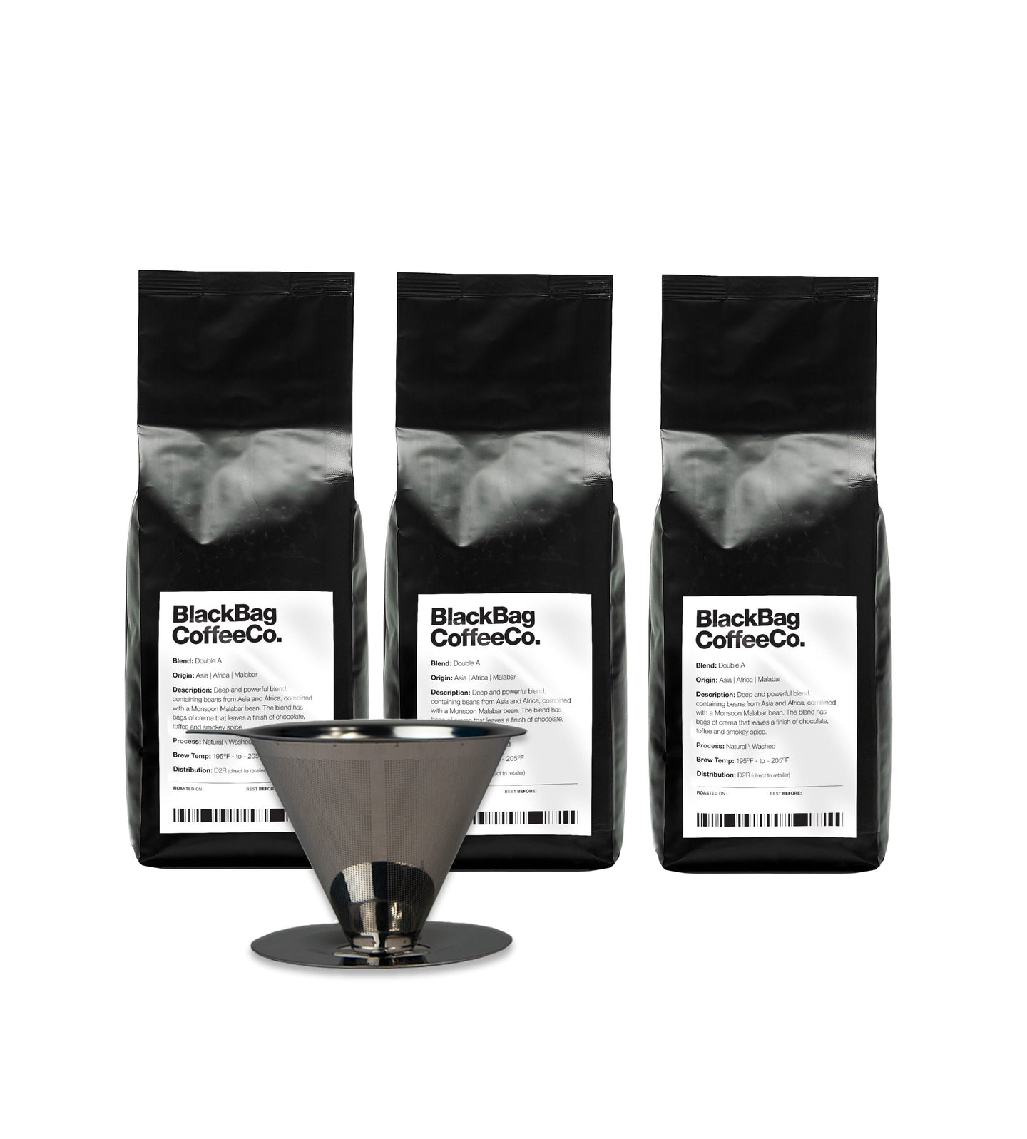 V60 Coffee Kit (inc. 3x coffee)