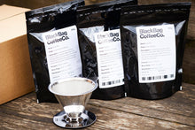 Load image into Gallery viewer, V60 Giftset (V60, Super Cup & 3x Blends of Coffee)