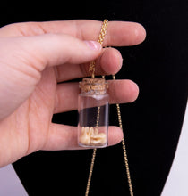 Load image into Gallery viewer, Teeth Shaker Jar Necklace