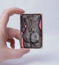 Load image into Gallery viewer, Sketchy Booty Ceramic Magnet