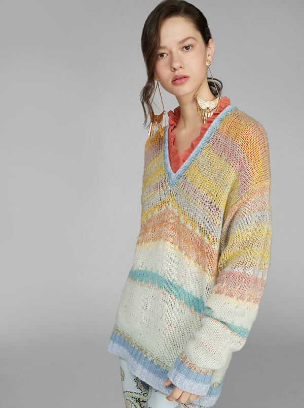 Sweater multi pastel