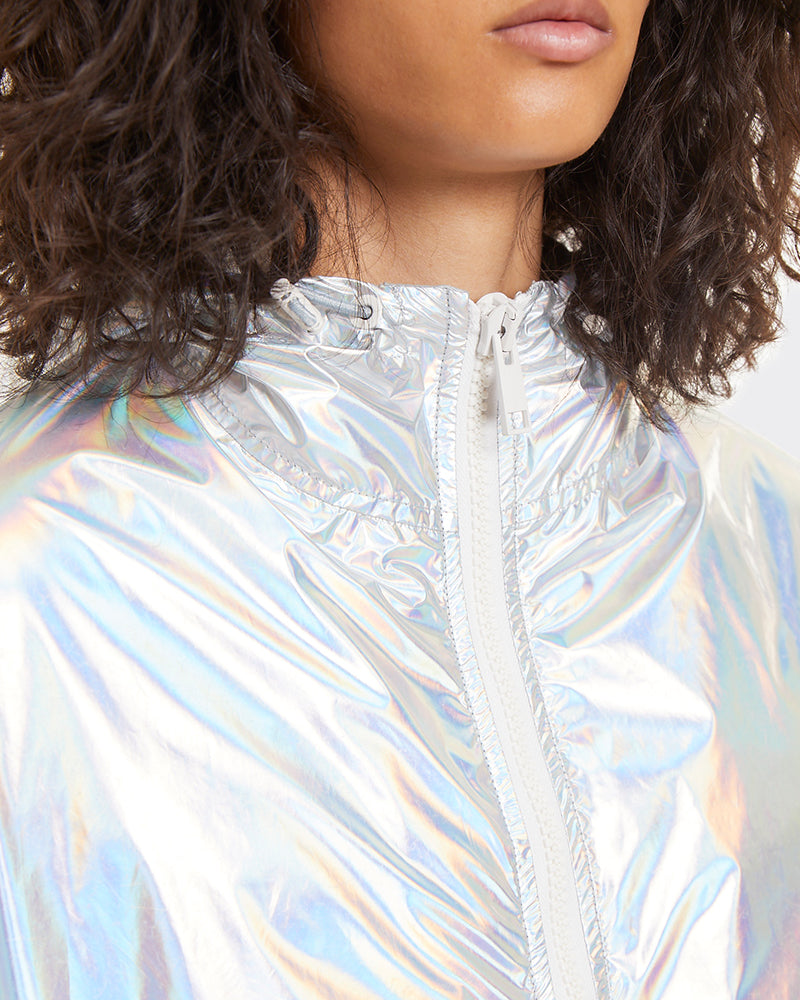 Coat holographic