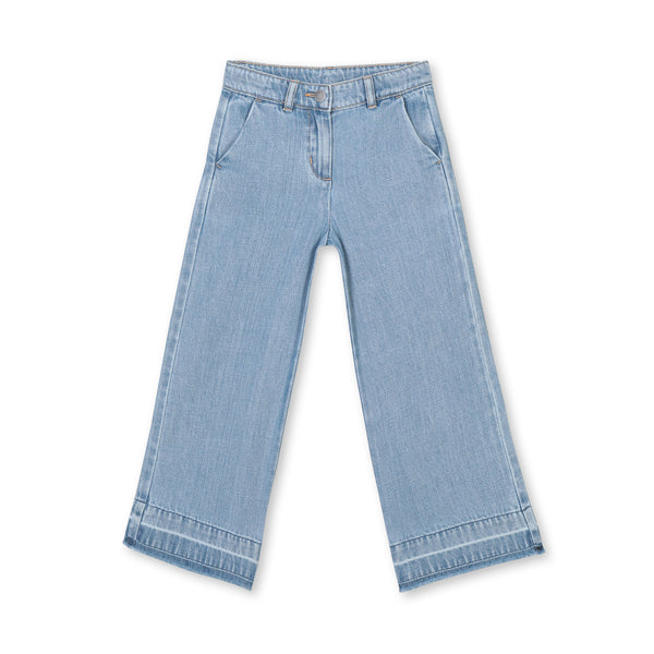 Pants heavy-blue