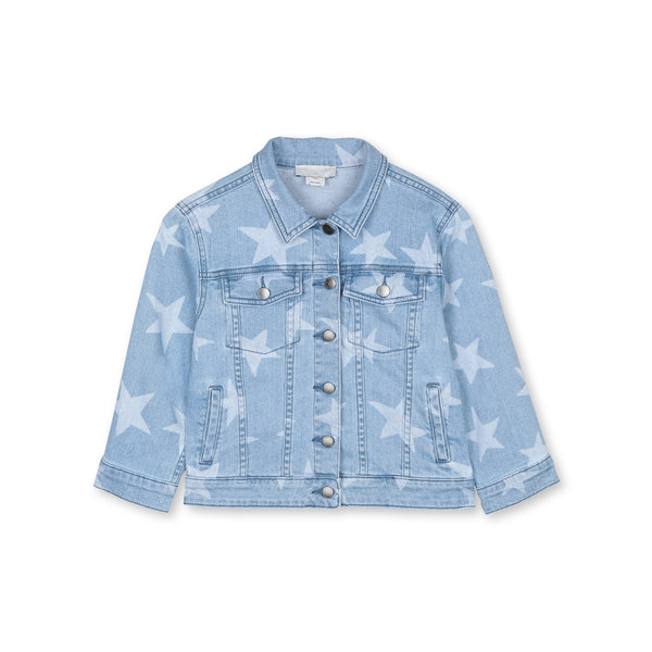 Jacket blue-honey