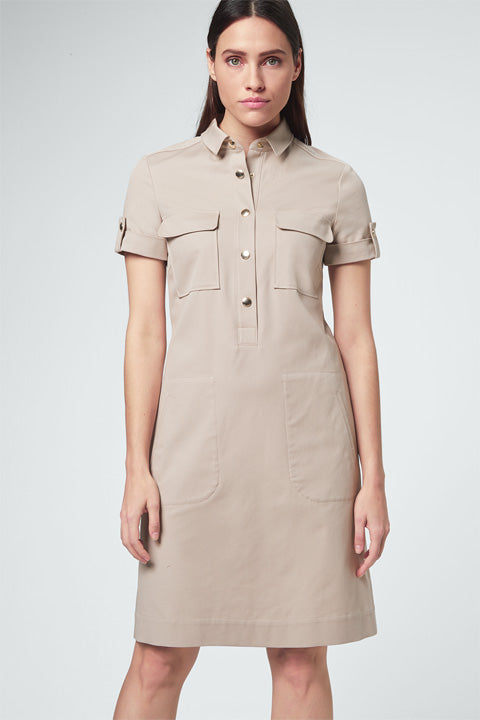 Shirt Dress beige