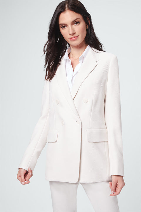 Blazer open white
