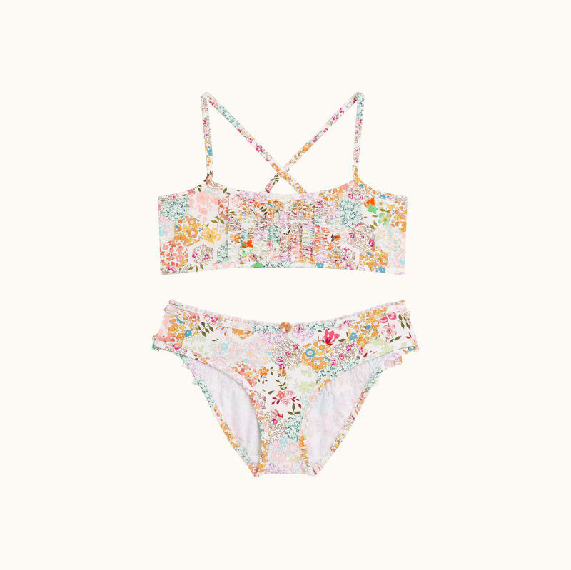 Bikini 2-Piece with flower Print
