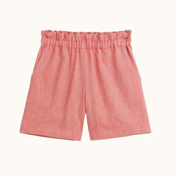 Shorts rose fane