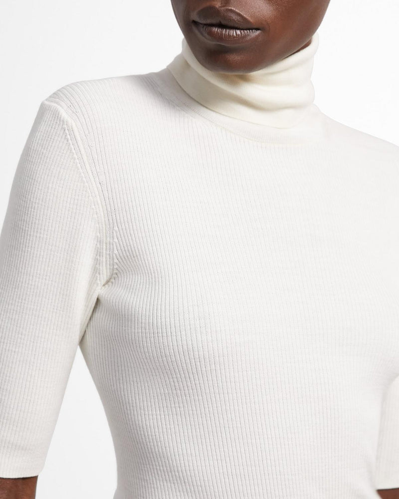 Short Sleeve Turtleneck