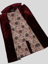 EMBROIDERED VELVET COAT