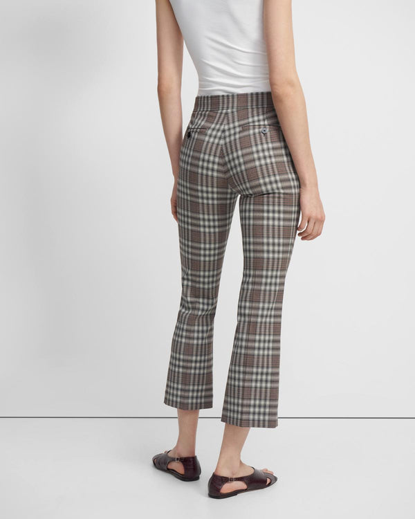 Kick Pant In Plaid Wool