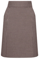 Pencil Skirt in Pepita