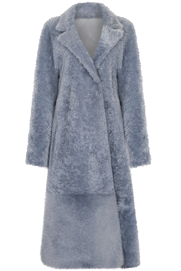 Sherling Coat smoked blue