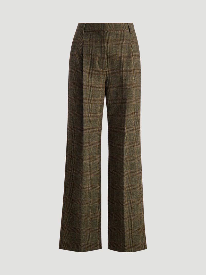 Bottoms-Up Check Trouser