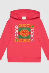 Children's Gucci logo print sweatshirt
