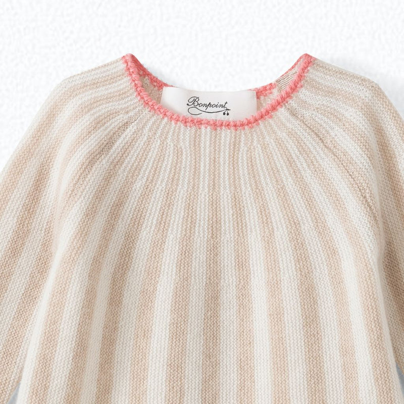 Baby striped cashmere set