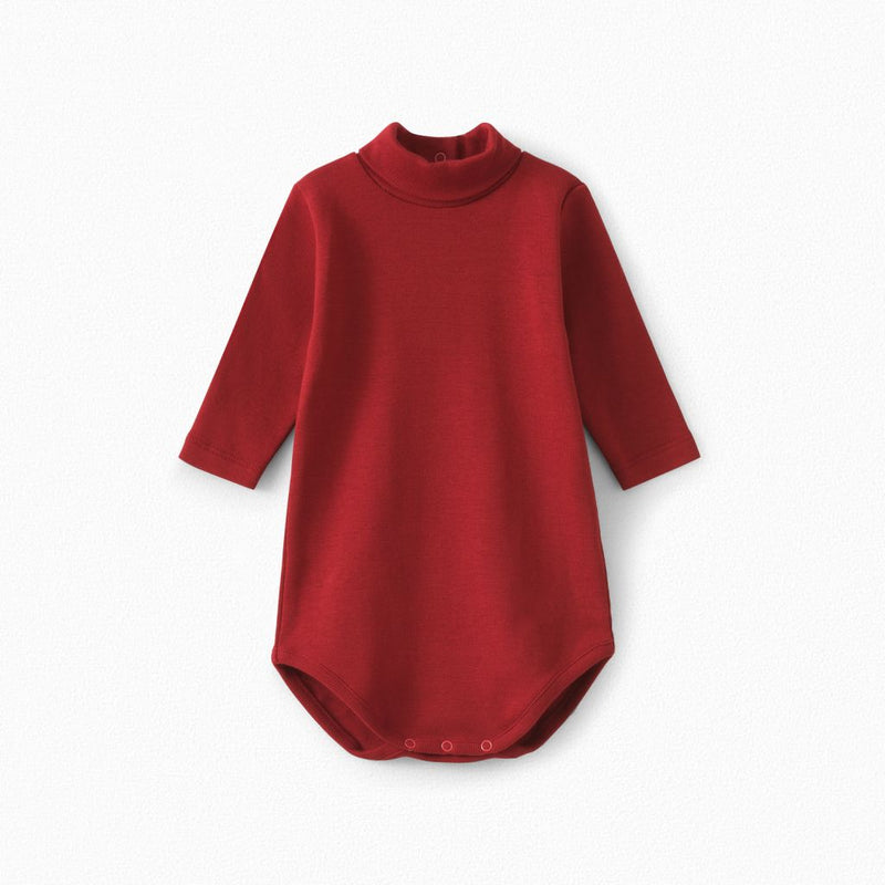 Baby Cotton Turtleneck Onesie