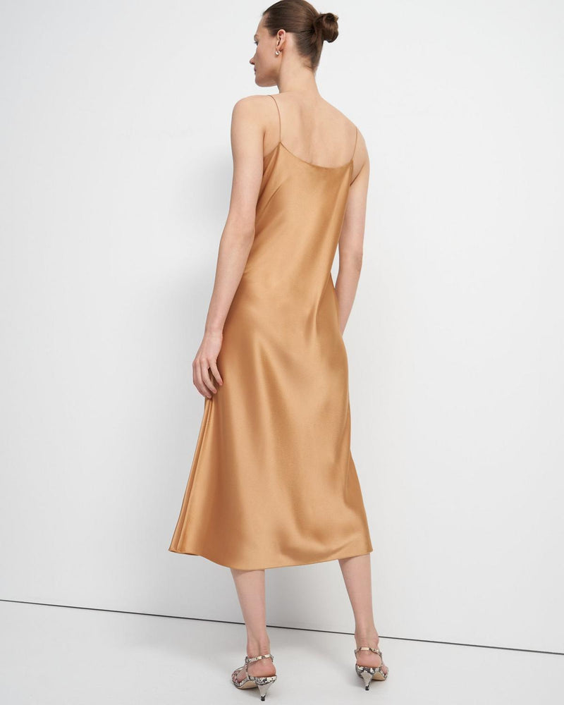 Slip Dress In Sateen