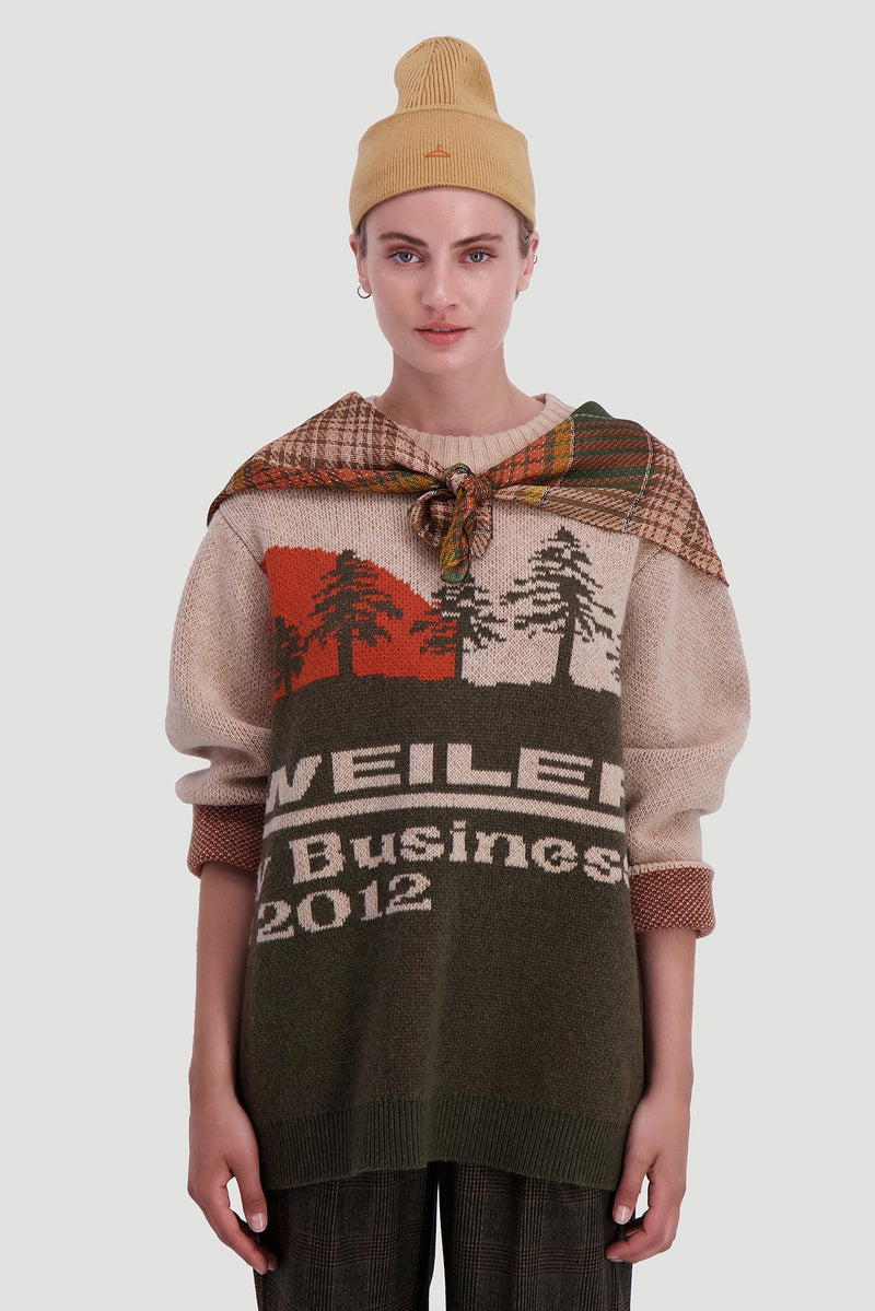 Valldal Knit Sweater Beige