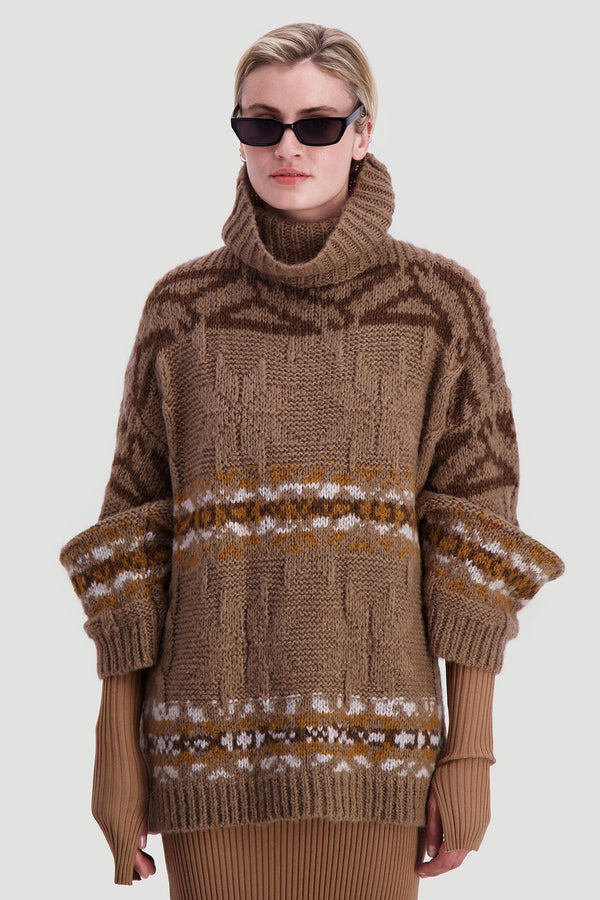Dypvag Knit Beige