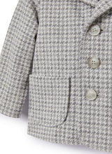 Baby Blazer Grey Check