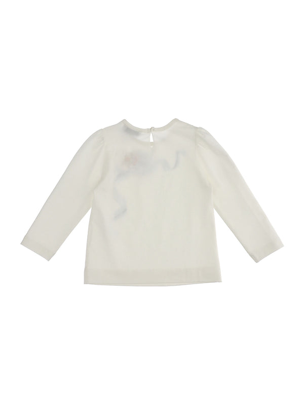 Edelweiss Jersey T-Shirt with Bow