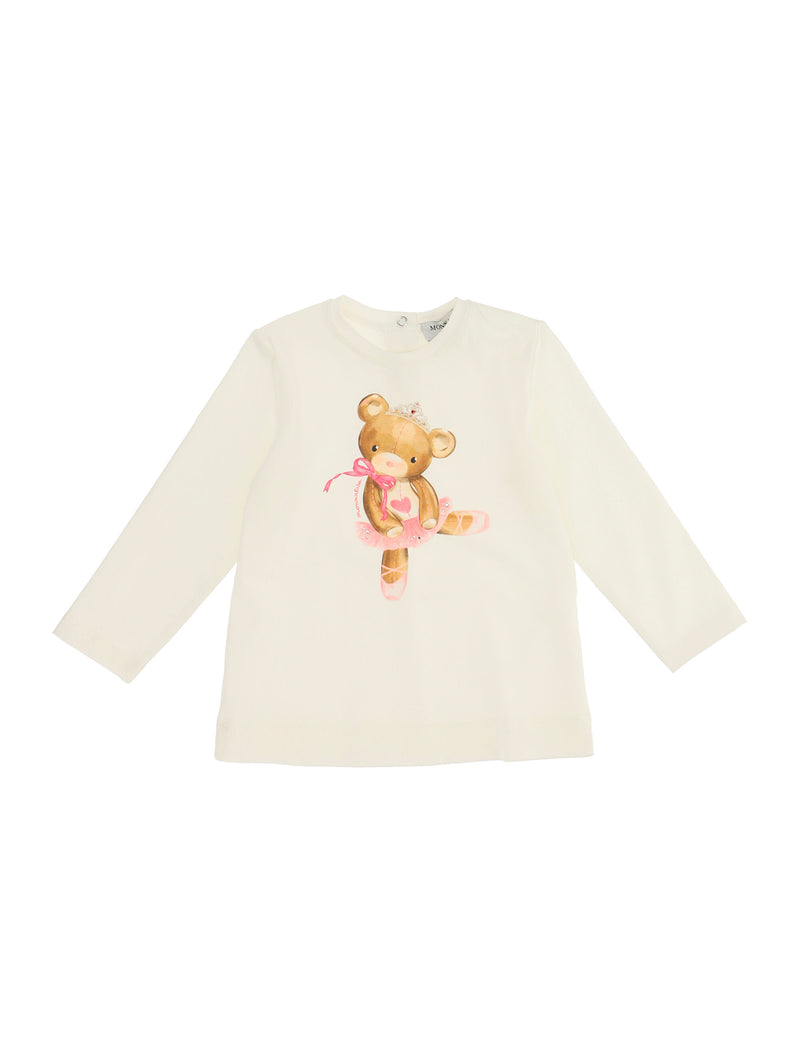 Jersey T-Shirt with Ballerina Teddy