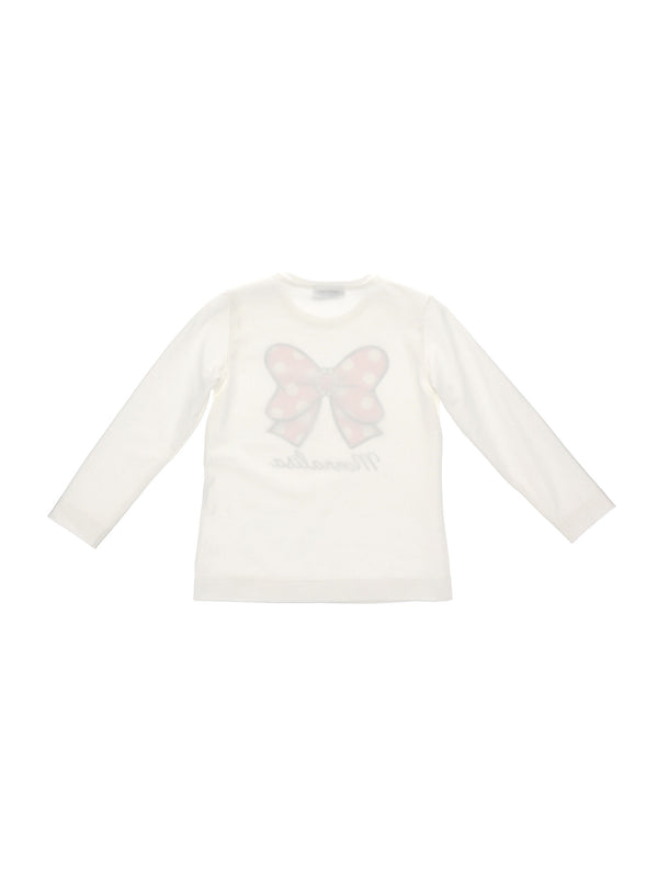 T-Shirt with Minnie-Bow Print