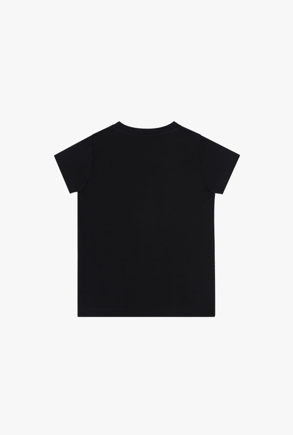 Cotton T-shirt with small Balmain logo