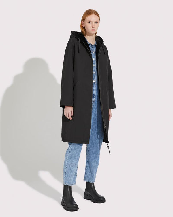 Reversible Long Parka