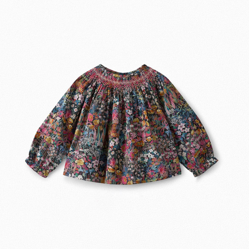 BABY BLOUSE IN LIBERTY MATERIAL
