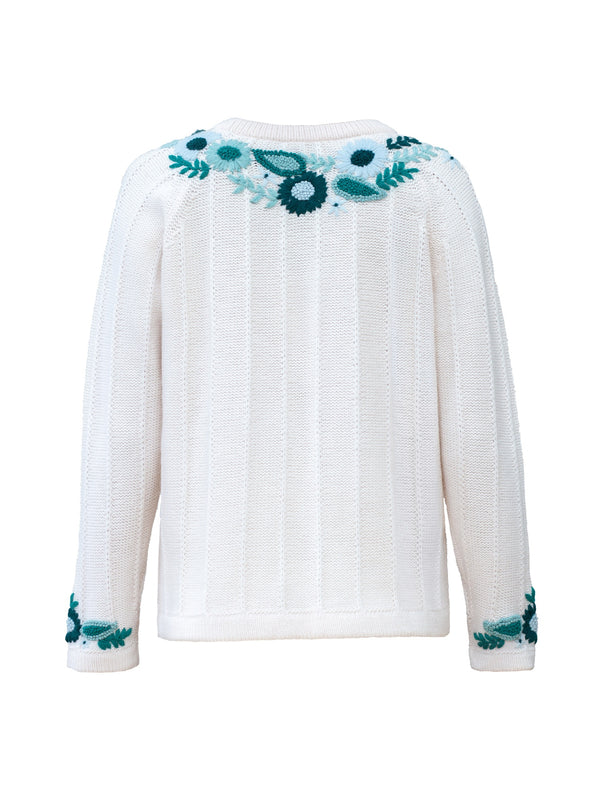 Ruby Jumper Ivory