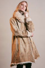 Sherling Coat antique rustica