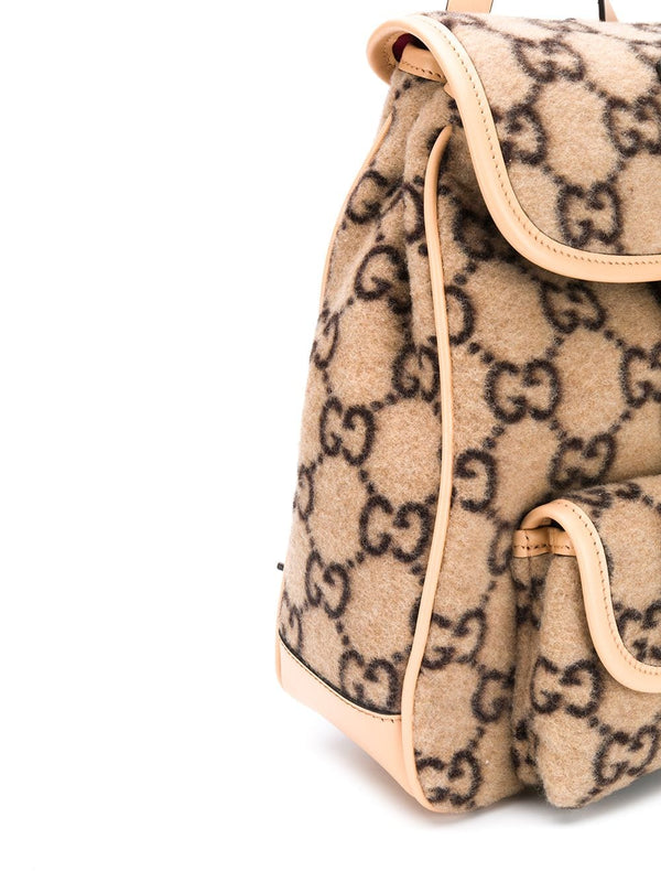 Rucksack mit GG-Muster Flanell